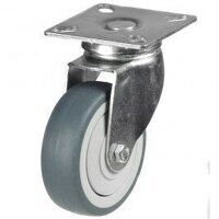 100GD4GRG 100mm Synthetic Non-Marking on Plastic Centre - Swivel