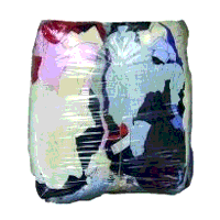 10kg Bag of Rags (A1 Coloured Clothes)