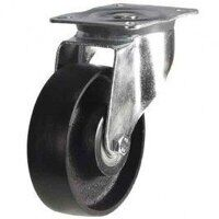 125DR4CIBJLP 125mm Cast Iron Wheel Castor - Swivel