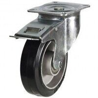 125DR4EABJSWB 125mm  Black Elastic on Aluminium Ce...