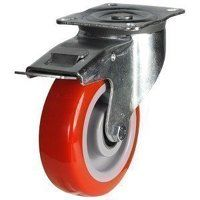 125DR4PNBJSWB 125mm Medium Duty Polyurethane On Ny...