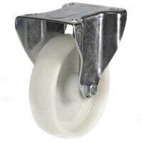125DR8PPB 125mm Polypropylene Wheel Castor - Fixed