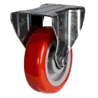 125DRH8PNBJ 125mm Polyurethane On Nylon Centre Fixed Castor