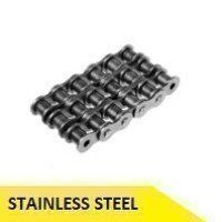 12B3-SS 3/4inch Pitch Roller Chain 5 Meter Box - Stainless Steel (Dunlop)