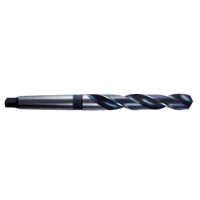 12.40mm HSS MTS1 Taper Shank Drill DIN345 (Pack of...