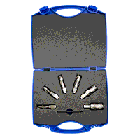 14mm - 24mm HSS Factory Bright Short Series Annular Cutter Set