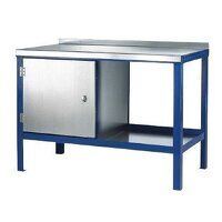 1500x750mm Heavy Duty Workbenches - Steel Top (1575SC)