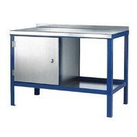 1500x900mm Heavy Duty Workbenches - Steel Top (159...