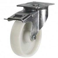 160DR4NYSWB 160mm Nylon Castor - Swivel Braked