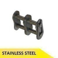 16B2-SS 1inch Pitch Connecting Link - Stainless St...