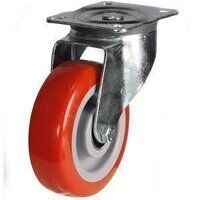 200DR4PNBJ 200mm Medium Duty Polyurethane On Nylon...