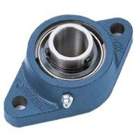 FYTJ45TF SKF 45mm 2 Bolt Flange Bearing & Grub Scr...