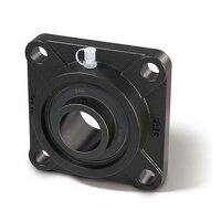 UCF201 FAG 12mm 4 Bolt Flange Bearing - Black Seri...