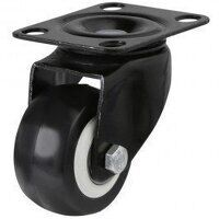 50AG4BPUBJ Poly on Nylon with Pressed Steel Bracket - Swivel