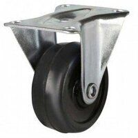 50AG8SR 50mm Solid Rubber on Plastic Centre Castor...