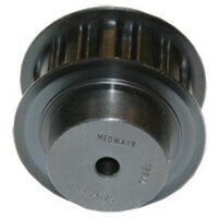 72-5M-25 Metric Pilot Bore Timing Pulley
