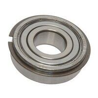 6004 2ZNR SKF Shielded Ball Bearing with Snap Ring...
