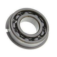 6004 NR SKF Open Ball Bearing with Snap Ring Groov...