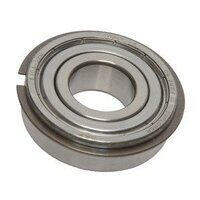 6204 2ZNR SKF Shielded Ball Bearing with Snap Ring...