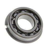 6204 NR SKF Open Ball Bearing with Snap Ring Groov...