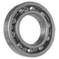 6411 NR SKF Open Ball Bearing with Snap Ring Groov...
