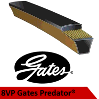 8VP3550 Gates Predator V Belt (Please enquire for product availability/lead time)