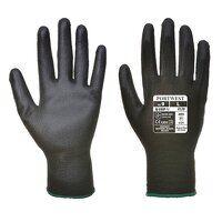 A120 PU Palm Glove - Pack of 48 V(Black / Small / R)
