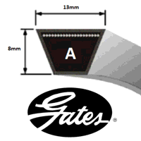 A158 Gates Delta Classic V Belt (Please enquire for product availability)