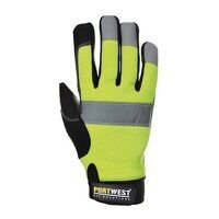 A710YERXL Hi-Vis Portwest Tradesman Gloves