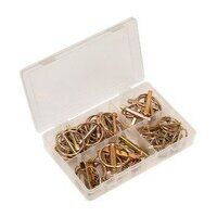 AB022LP Sealey 50pc Assortment Metric Linch Pin