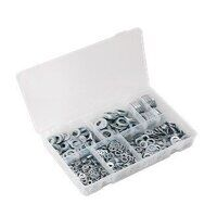 AB055WA Sealey 1070pc M5-M16 Form A Metric DIN 125 Flat Washer Assortment