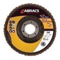 ABFA115B040 115mm x 22mm Aluminium Oxide Flap Disc...