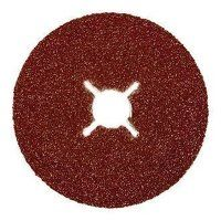 ABFD100120A 100mm x 16mm Abracs Aluminium Oxide Fibre Sanding Disc - 120 Grit (Pack of 25)