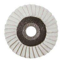 ABFF115 115mm x 22mm Felt Polishing Flap Disc (Pac...