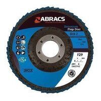 ABFZ100B080 100mm x 16mm Zirconium Flap Disc - 80 ...