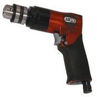 AD-38 3/8inch Capacity Reversible Pistol Grip Air Drill - 1,800rpm