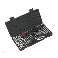 AK3012 Sealey 40pc Split Dies Tap & Die Set - Metr...