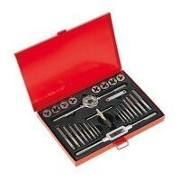 AK3028BSW Sealey 28pc Split Dies Tap & Die Set - I...