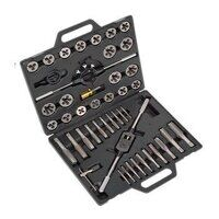 AK303IMP Sealey 45pc Split Dies Tap & Die Set - Imperial