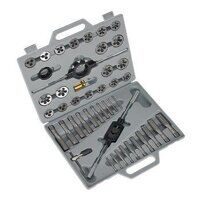 AK303 Sealey 45pc Split Dies Tap & Die Set - Metri...