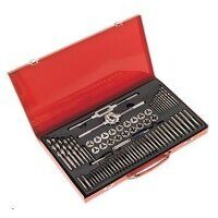 AK3076 Sealey 76pc Split Dies Tap & Die Set - Metr...