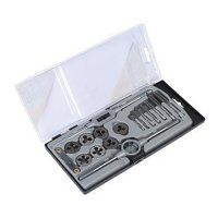 AK321 Sealey 17pc Tap & Die Set - Metric