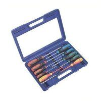AK4303 Sealey 11pc GripMAX® Screwdriver Set with Carry-Case