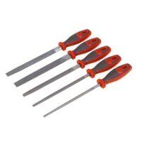 AK573 Sealey Engineers File Set 5pc 200mm