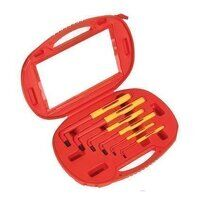 AK7177 Sealey 6pc Extra-Long VDE Hex Key Set