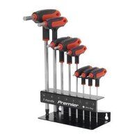 AK7195 Sealey 8pc T-Handle Metric Ball-End Hex Key Set