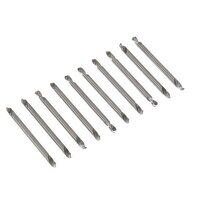 AK9910 Sealey 10pc 1/8inch Double End Drill Bit Se...