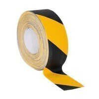 ANTBY18 Sealey Black & Yellow Self-Adhesive Anti-Slip Tape (50mm x 18mtr)
