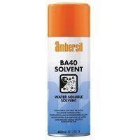 Ambersil BA40 Specialist Water Soluble Solvent 400ml - Box of 12 (31556)