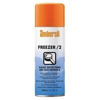 Ambersil Freezer /2 Fault Detection For Electronics 400ml - Box of 12 (33182)